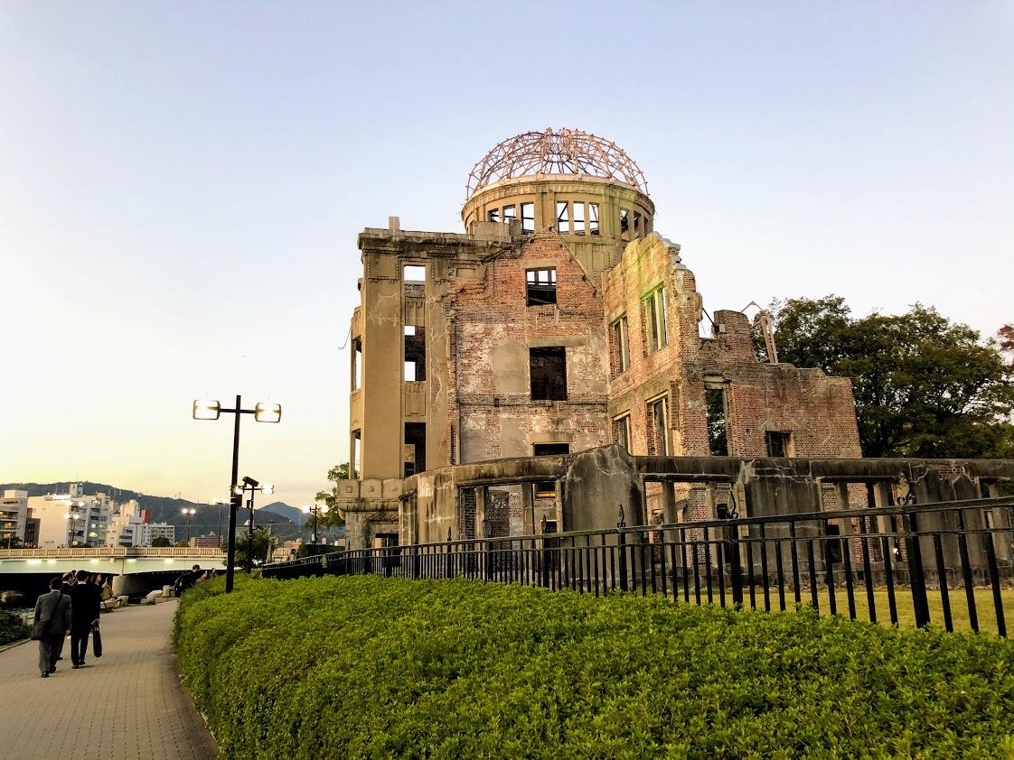「広島原爆の日、そして超党派で区長へ申入れ。」