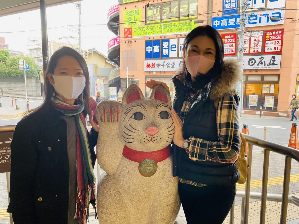 「日本で最初のトランスジェンダー議員、上川あやさんと世田谷散歩(≧∇≦)。」